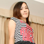 Ayumi. Ayumi is a rocker type tranny with black knee highs and a slutty plaid skirt!